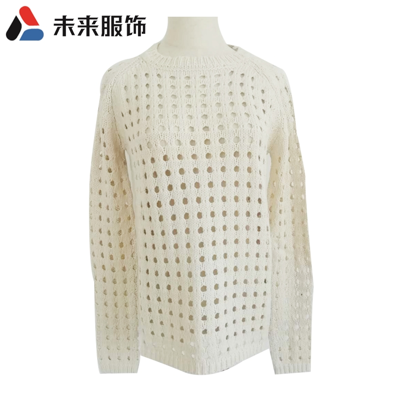 Womens hollow Pullover foreign trade tail list